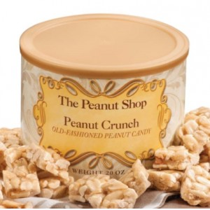 The Peanut Shop Virginia Peanut Brittle & Peanut Crunch