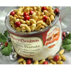 Holiday Peanuts from The Peanut Shop