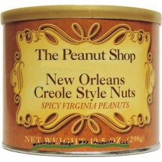 The Peanut Shop New Orleans Creole Style Peanuts - 10.5 oz.