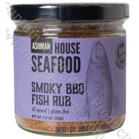 Ashman House Smoky BBQ Fish Rub - Case of 6!