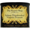 The Peanut Shop Artisan Handcooked Virginia Peanuts Generously Salted - 10.5 Oz.