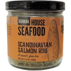 Ashman House Scandinavian Salmon Rub