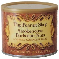The Peanut Shop Smokehouse Bbq Seasoned Peanuts - 10.5 oz