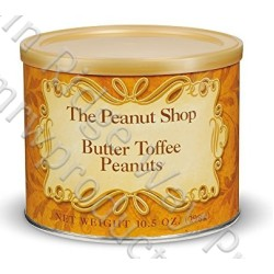 The Peanut Shop Butter Toffee Peanuts - 10.5 oz.