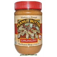 The Peanut Shop Peanut Butter - Crunchy All Natural - 18 oz