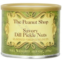The Peanut Shop Savory Dill Pickle Seasoned Peanuts - 10.5 oz.