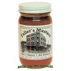 Fuller's Sweet & Hot Mustard - 9.5 Oz. Net. Wt.