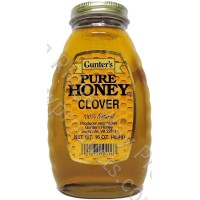 Gunter's Clover Honey - 1 lb. Jar