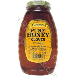 Gunter's Clover Honey - 2 lb. Jar