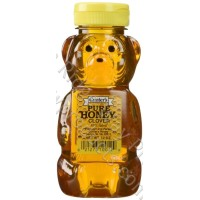 Gunter's Clover Honey Bear - 12 Oz. Net Wt. - Case of 12
