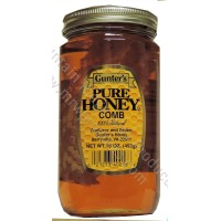 Gunter's Honey with Comb - 1 lb. Jar