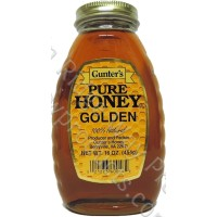 Gunter's Golden Honey - 1 lb. Jar