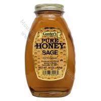 Gunter's Sage Honey - 1 lb. Jar