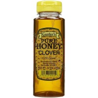 Gunter's Clover Honey Squeezable Tube - 12 Oz. Net Wt. - Case of 12