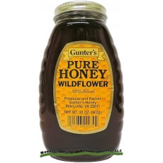Gunter's Wildflower Honey - 2 lb. Jar