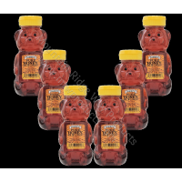 Gunter's Wildflower Honey Bear - 12 Oz. Net Wt. - Case of 6