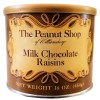 The Peanut Shop Milk Chocolate Raisins - 16 Oz.