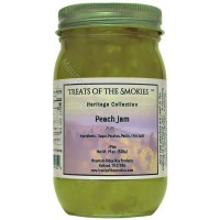 Treats of the Smokies - Peach Jam - Pint (19 oz. nt. wt.) Jar