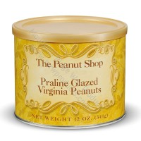 The Peanut Shop Praline Glazed Virginia Peanuts - 12 oz.
