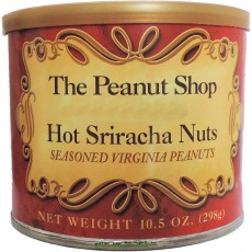 The Peanut Shop Hot Sriracha Seasoned Peanuts - 10.5 oz.