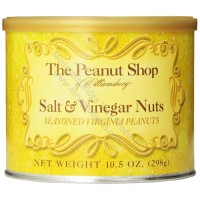 The Peanut Shop Salt & Vinegar Seasoned Peanuts - 10.5 oz.
