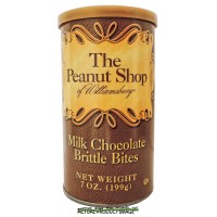 The Peanut Shop Milk Chocolate Brittle Bits - 7 oz