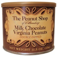 The Peanut Shop Milk Chocolate Covered Peanuts - 11.5 Oz.