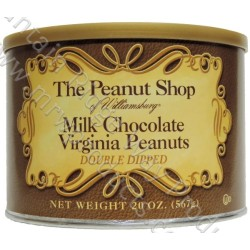 The Peanut Shop Milk Chocolate Covered Peanuts - 20 Oz.