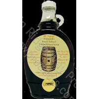 Falling Bark Farm Brandy infused Vanilla Hickory Syrup - 8 oz.